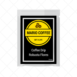 Robusta Flores Coffee Drip 10 Gram Original