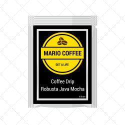 Robusta Java Mocha Coffee Drip 10 Gram Original