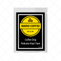 Robusta Kopi Tiam Coffee Drip 10 Gram Original