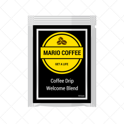 Robusta Welcome Blend Coffee Drip 10 Gram Original