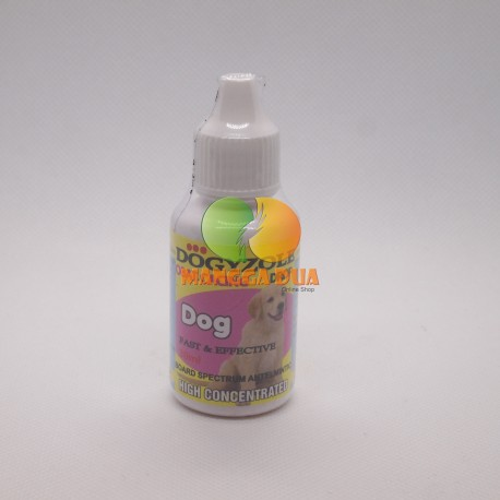Dogyzole Drop 30 ml Original - Obat Tetes Cacing Anjing