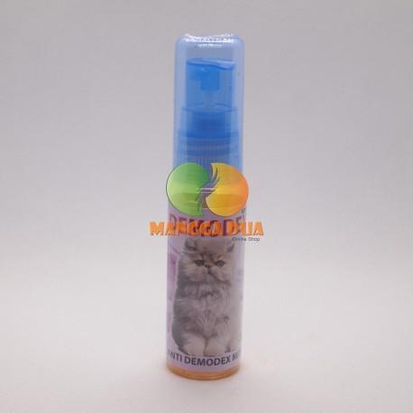 Demodex 30 ml Original - Obat Anti Demodex Mits Parasit Tungau Bulu Mata Kucing