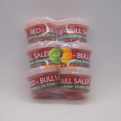 Red Bull Salep 6 Pot - Anti Bubulen Untuk Ayam Aduan