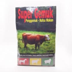 Super Gemuk Sapi 100 gram Original - Premix Multivitamin Trace Mineral dan Asam Amino Penggemuk Sapi