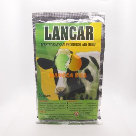 Lancar Sapi 50 Gram Original - Meningkatkan Produksi Air Susu Sapi