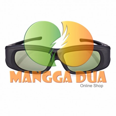 Kacamata 3D Active Shutter Glasses untuk Samsung, Sony, Toshiba, Sharp, Panasonic, Xiaomi MI TV 2, Changhong