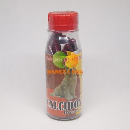 Calcidox Premium 60 capsul Original - Calcium (Kalsium) Untuk Anjing