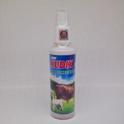 Kudix Spray 120 ml Original - Obat Scabies, Gudig, Eksim, Gatal2, Koreng Pada Sapi, Kuda, Kerbau, Kambing, Kelinci