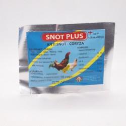 Snot Plus 10 Capsul Original - Anti Snot dan Coryza Ayam New Lebih Ampuh