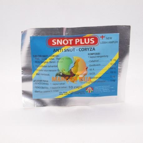 Snot Plus 10 Capsul - Anti Snot dan Coryza New Lebih Ampuh
