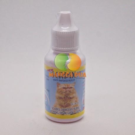 Scadix Cat Kucing Drop 30 ml Original - Obat Anti Jamur Scabies Kudis Eksim Koreng Gatal Pada Kucing