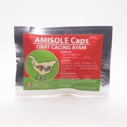 Amisole 10 Capsul Original - Obat Cacing Ayam