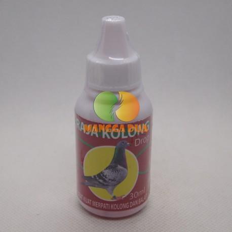 Raja Kolong Drop 30 ml Original - Obat Kuat Burung Merpati Kolong Dan Balap