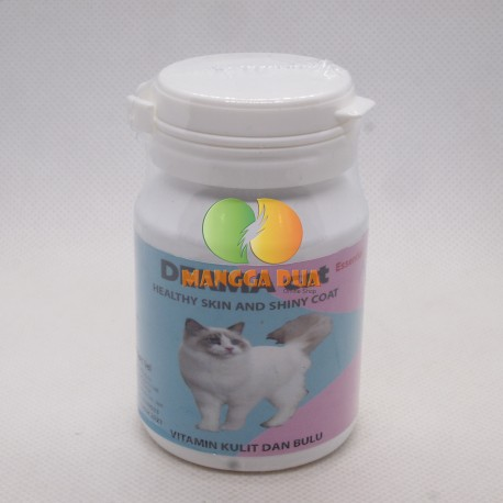 Derma Dog Cat 30 Pcs Soft Gel Original - Vitamin Kulit Dan Bulu Anjing dan Kucing