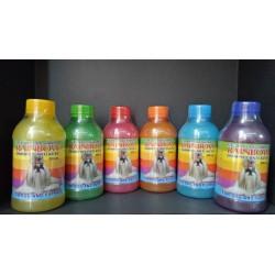 Rainbow Shampoo 250 500 600 1000 5000 ml Original - Shampoo Anti Kutu Untuk Anjing Kucing Kelinci