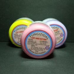 Fungizidal Cat & Kitten 20 gram Original - Cream Anti Fungal Jamur Kucing