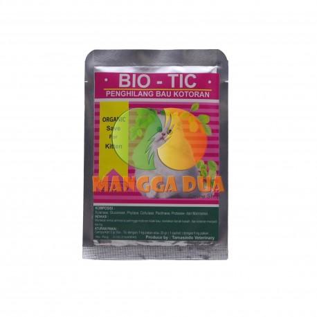 Bio - Tic 50 gram dan 30 gram Original - Penghilang Bau Kotoran Anjing Dan Kucing dari Pakan