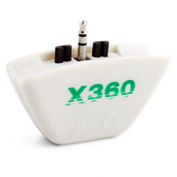 Headphone Earphone Headset Converter Adapter 2.5mm ke 3,5mm Untuk XBOX 360