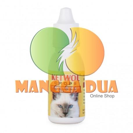 Ketwol Drops 15 ml Original - Vitamin Untuk Bulu Kucing