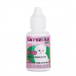 Catyzole Drop 30 ml Original - Obat Cacing Kucing Tetes Cacingan