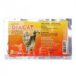 DiaCat 10 Capsul Original - Obat Mencret Khusus Kucing