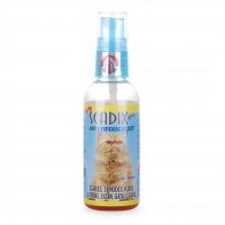 Scadix Spray Dog Cat 60 ml Original - Obat Anti Jamur Scabies Kudis Eksim Koreng Gatal Pada Anjing dan Kucing