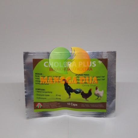 Cholera Plus 10 Capsul Original - Obat anti Berak Hijau / Kolera