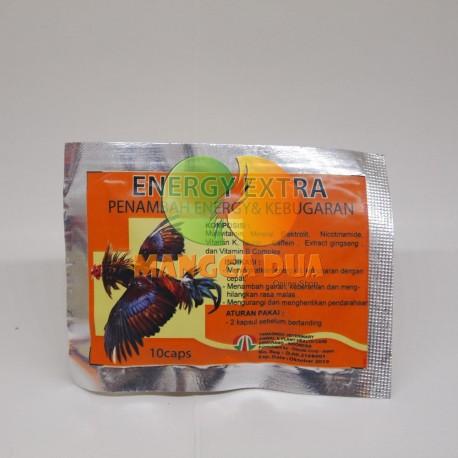 Energy Extra 10 Capsul Original - Obat Penambah Energi dan Kebugaran Burung