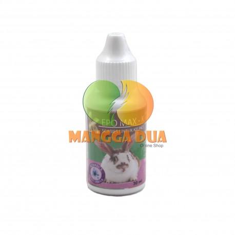 Kepo Max 30 ml Original - Obat Scabies untuk Kelinci