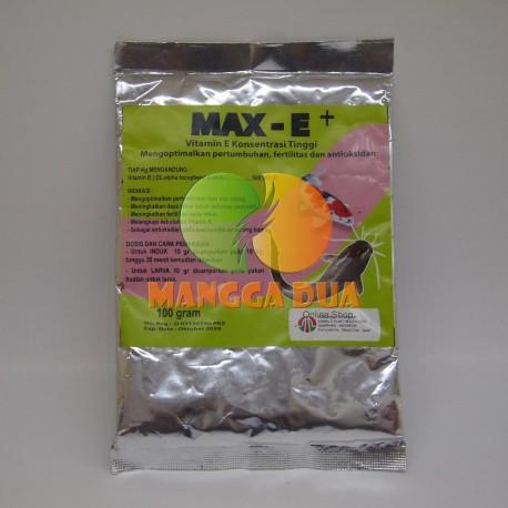 Max E+ 100 gram Original - Vitamin E Dosis Tinggi untuk Ikan