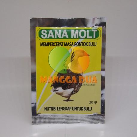 Sana Molt 20 gram Original - Mempercepat Masa Rontok Bulu Bebek