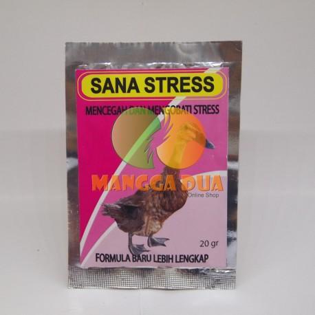 Sana Stress 20 gram Original - Mencegah dan Mengobati Stress pada Bebek