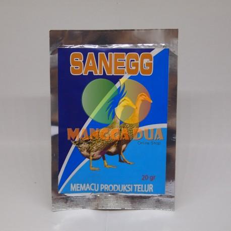 San Egg 20 gram Original - Pemacu Produksi Telor pada Bebek
