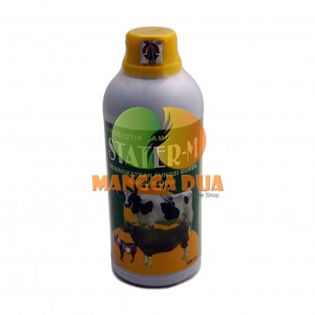 Stater - M 500 ml Original - Meningkatkan Fungsi Rumen Nafsu Makan Sapi