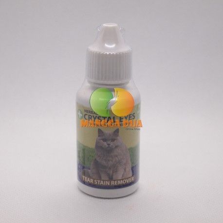 Crystal Eyes Cat 30ml Original - Pembersih Mata Kucing