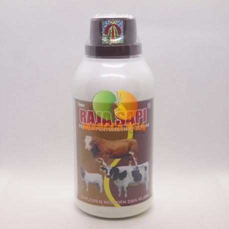 Raja Sapi 250 ml Original - Pemacu Pertumbuhan Ternak ( Sapi, Kambing, Kuda, Babi, Domba, Kerbau dll)