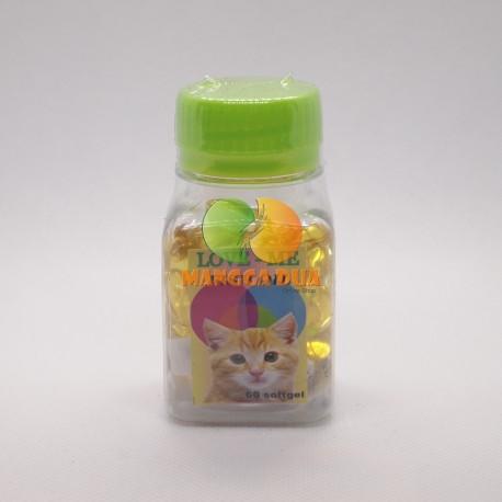 Love Me Fish Oil Cat 60 Soft Gel Original - Minyak Ikan Untuk Kucing