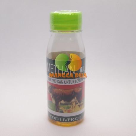 Methan Oil 120 ml Original - Minyak Ikan untuk Ternak