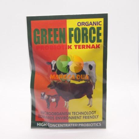 Green Force Organik 25 Gram Original - Probiotik Ternak Sapi Kambing Lembu Domba