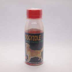 Dogyzole Liquid 100 ml Original - Obat Cacing Anjing