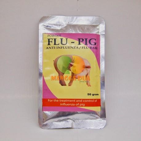 Flu Pig Powder 50 Gram Original - Obat Anti Influenza Babi Antibiotik