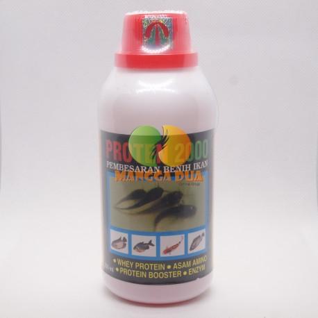 Proten 2000 250 ml Original - Pembesaran Benih Ikan / Pemacu Pertumbuhan Benih Ikan