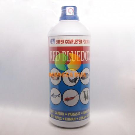 Red Bluedox 500 ml Original - Anti Jamur, Parasit, Bakteri, Kuman, Luka, Kutu pada Ikan