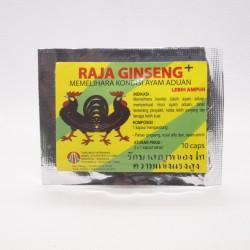 Raja Ginseng 10 Capsul - Memelihara Kondisi Ayam Aduan