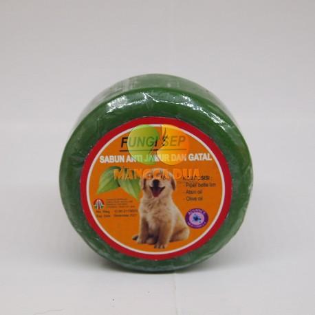 Fungi Sep Herbal Original - Fungisep Sabun Anti Jamur atau Gatal Anjing dan Kucing
