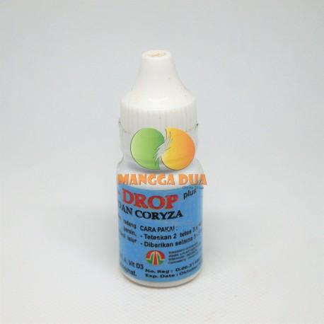 Snot Drop 10 ml Original - Obat Anti Snot Coryza Pilek Radang Bengkak Bersin Sesak Nafas Ayam