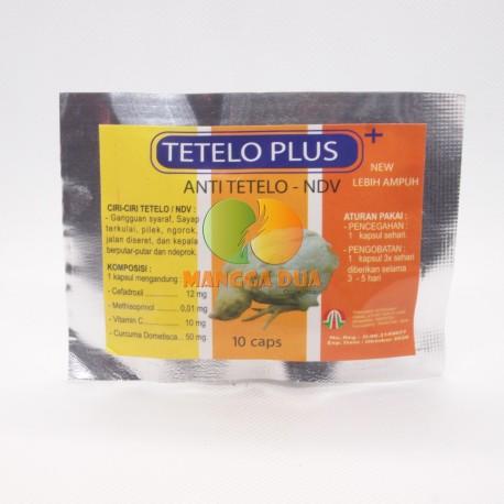 Tetelo Plus 10 Capsul Original - Anti Tetelo NDV pada Ayam