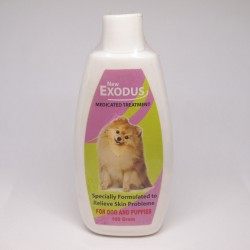 Bedak / Talk Powder Exodus Medicated Treatment Dog Anjing 100 gram Original - Bedak Talc untuk Anjing