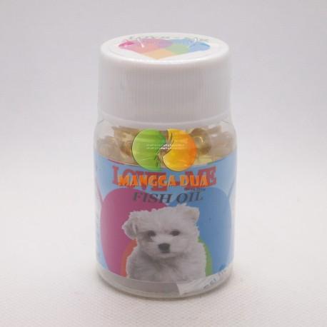 Love Me Fish Oil Dog 60 Soft Gel Original - Minyak Ikan Untuk Anjing