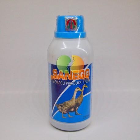 San Egg 250 ml Original - Pemacu Produksi Telur pada Bebek